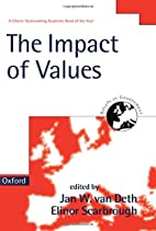 The Impact of Values (Beliefs in Government)…