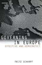 Governing in Europe: Effective and…