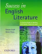 Success in English literature by Steven…