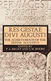 Augustus: Res Gestae Divi Augusti: The Achievements of the Divine Augustus