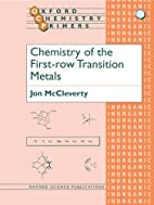 Chemistry of the First-row Transition Metals…