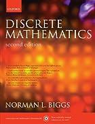 Discrete Mathematics by Norman L. Biggs