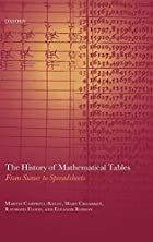 The History of Mathematical Tables: From…