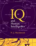 IQ and Human Intelligence by N. J.…