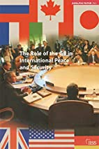 The role of the G8 in international peace…