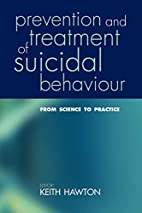 Prevention and Treatment of Suicidal…