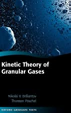 Kinetic Theory of Granular Gases (Oxford…