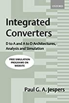 Integrated Converters: D to A and A to D…