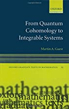 From Quantum Cohomology to Integrable…