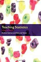 Teaching Statistics: A Bag of Tricks by…