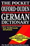 Clark, Michael: Pocket Oxford-Duden German Dictionary: German/English English/German