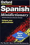 The Oxford Spanish Minidictionary Spanish English, English Spanish Espanol