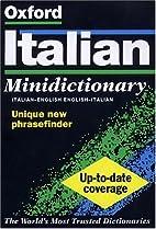 The Oxford Italian Minidictionary by Joyce…