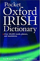 Oxford Pocket Irish Dictionary by Breandan O…