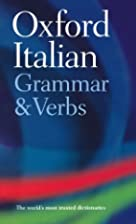 Oxford Italian Grammar And Verbs by Colin…
