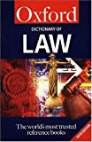 Martin, Elizabeth A.: A Dictionary of Law