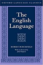 The English Language by Robert Burchfield