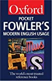 Allen, R.E.: Pocket Fowler&#39;s Modern English Usage