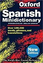 Oxford Spanish Minidictionary by Carol…