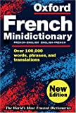 Chalmers, Marianne: The Oxford French Minidictionary: French-English/English-French