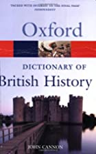 Oxford Dictionary of British History by John…