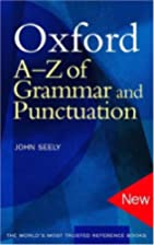 Oxford A-Z of Grammar and Punctuation by…