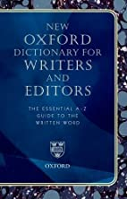 New Oxford Dictionary for Writers and…