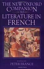 The New Oxford Companion to Literature in…