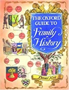 The Oxford Guide to Family History by David…