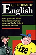 Questions of English by Jeremy Marshall