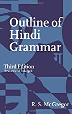 Outline of Hindi Grammar: With Exercises by…