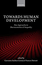 Towards Human Development: New Approaches to…