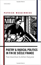 Poetry and Radical Politics in fin de siecle…