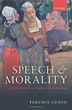 Speech and Morality: On the Metaethical…