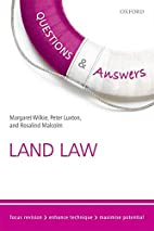 Q&A Revision Guide Land Law 2015-2016 by…