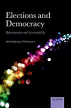 Elections and Democracy: Representation and…