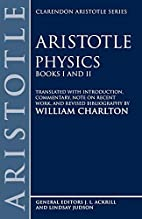 Physics: Books I and II by William Charlton