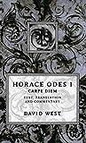 Horace: Horace Odes I: Carpe Diem (Bk.1)