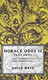 West, David: Horace Odes II: Vatis Amici