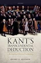 Kant's Transcendental Deduction: An…
