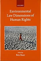 Environmental Law Dimensions of Human Rights…