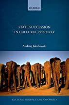 State Succession in Cultural Property…