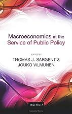 Macroeconomics at the Service of Public…