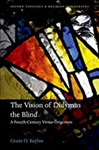 The Vision of Didymus the Blind: A…