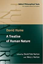A Treatise of Human Nature (Oxford…