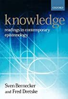 Knowledge: Readings in Contemporary…