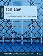 Tort Law Directions (Directions Series) by…