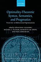Optimality Theoretic Syntax, Semantics, and…