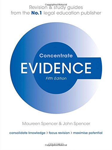 evidence-concentrate-law-revision-and-study-guide