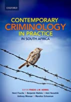 Contemporary Criminology in South Africa by…